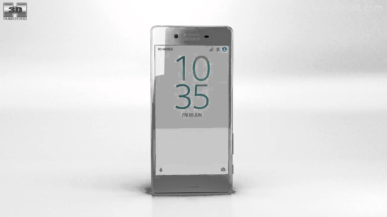 Sony Xperia X Performance White 3D model by Humster3D.com ...  Sony Xperia X P...