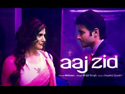 || Aaj Zid ❤ | Aksar 2 | Arijit Singh New Song  WhatsApp Status Video ||