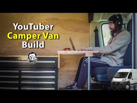 Building a Camper Van for Alexander - Driver's Seat Workstation