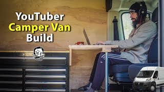 Building a Camper Van for Alexander - Driver's Seat Workstation