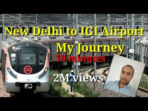New delhi to igi airport terminal 3 metro
