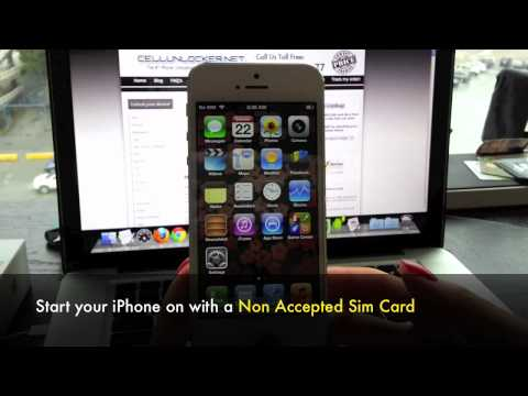 Unlock iPhone SE, 6S, 6S+, 6, 6+, 5, 5S, 5C - How to Factory any Unlock iPhone use on other Networks