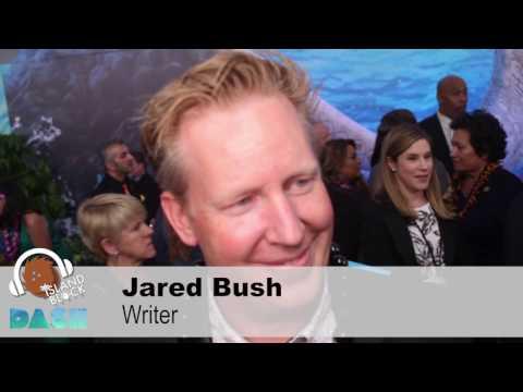Disney's MOANA premiere  Screenwriter, JARED BUSH