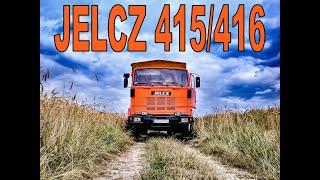 JELCZ 415/416 - JAZDA - PRZYGODA Z PRAWDZIWĄ WAGĄ CIĘŻKĄ
