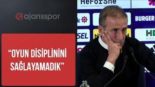 Abdullah Avcı'dan, Cüneyt Çakır ve Atiba açıklaması.. Fenerbahçe - Beşiktaş basın toplantısı
