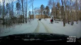 KIA Sorento vs Renault Duster в снежную гору
