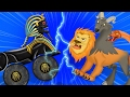 Monster truck | Egypt adventures | Mummy VS Sphinx | kids cartoon video