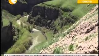 Ermenistanin serhed menteqesinde Rusiya bayragi   Region TV