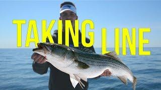 """TAKING LINE""    Fishing for Striped Bass Short Film"