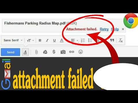 Gmail attachment failed error|unable to attach files in gmail