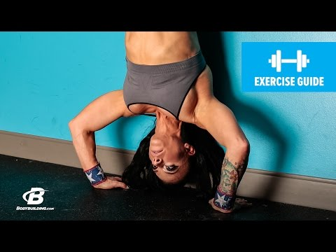 How To Do A Hand Stand Push-Up | Exercise Guide