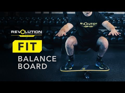 Revolution FIT Balance Board Exercises
