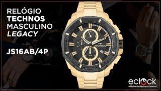 Relógio Technos Masculino Legacy JS16AB 4P - Eclock 24eb3d0909