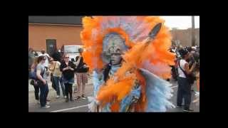 Mardi Gras Indians Super Sunday 2013