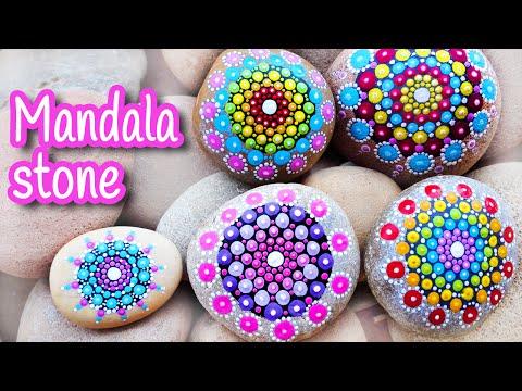 DIY crafts: MANDALA STONE  Innova Crafts