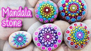 DIY crafts: MANDALA STONE - Innova Crafts