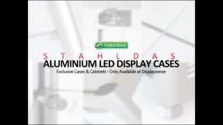Stahldas Aluminium Led Display Cabinet