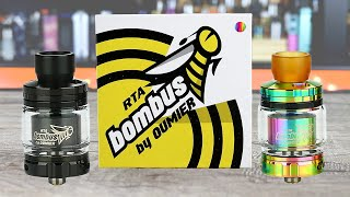 BEST SINGLE COIL TANK? The Oumier Bombus! ✌️