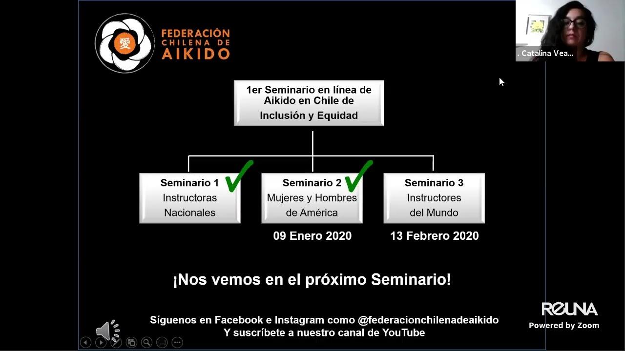 Seminario en línea Hombres y Mujeres de América / Federación Chilena de Aikido