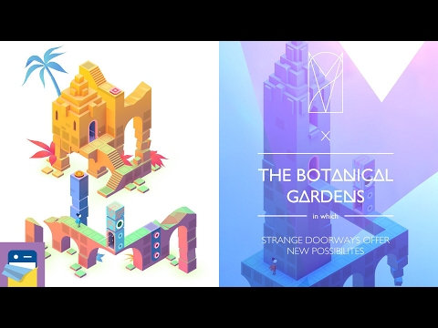 Monument Valley 2: Chapter 10 (X) THE BOTANICAL GARDENS Walkthrough & Gameplay (by ustwo Games)