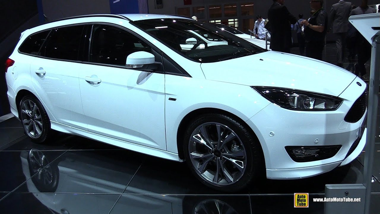 Novo Ford Focus 2018 >> 2018 Ford Focus ST-Line - Exterior and Interior Walkaround - 2017 Frankfurt Auto Show - YouTube