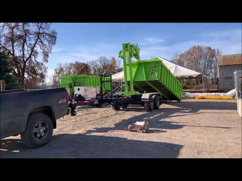 CL182GNA16 -Agriculture Trailer 18,000 lbs. capacity for containers from 16 to 18 foot