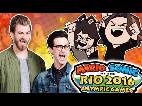 Mario and Sonic at the Rio Olympics With Special Guests Rhett and Link - Guest Grumps