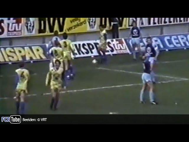 1987-1988 - Jupiler Pro League - 19. SK Beveren - Club Brugge 5-2