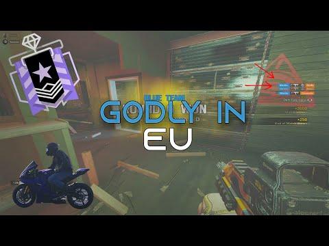 I Met Godly In EU Ranked - Rainbow Six Siege