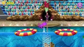 Играем в игру Шоу Дельфинов 4