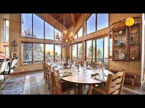 Deer Crest in Deer Valley, Park City UT Luxury Home for Sale Ski-In/Ski-Out