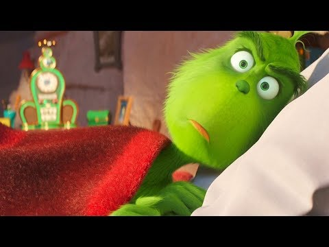 The Grinch Wake Up Scene - The Grinch (2018) Animated Movie Clip HD