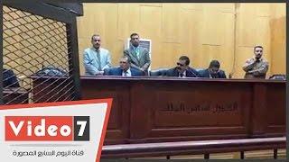 """قاضى """"عمليات رابعة"""" يتندب محاميا لـ""""محمود غزلان"""".. والمحامى يطلب التأجيل"""