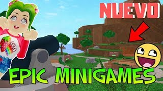 😱NEW UPDATE IN EPIC MINIGAMES AFTER A LONG TIME- ROBLOX