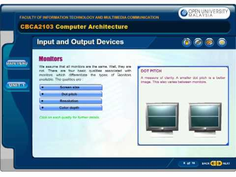 [LO] Central Processing Unit (cont.) & Input and Output Devices