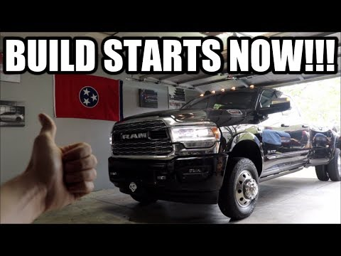 FIRST UPGRADE DONE!!! BUILD PLANS FOR THE 2019 RAM 3500!!!