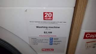 miele 8kg wkb 130 front load washing machine seal design