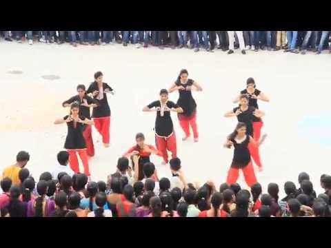 sphoorthy engineering college flashmob ECE 2015