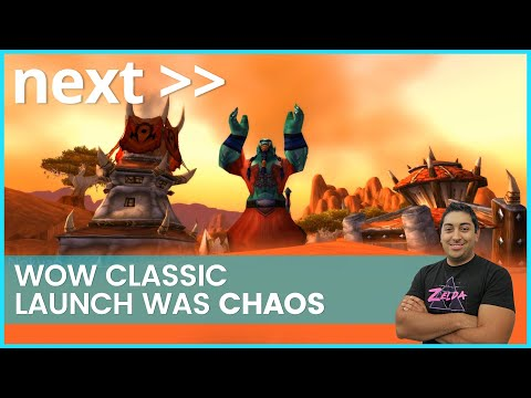 next-//-wow-classic-launch-was-chaos---the-first-hours-made-video-game-history!