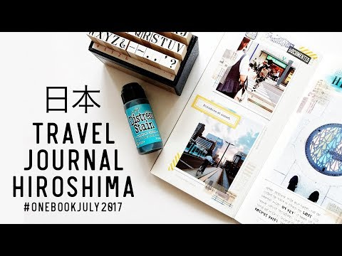 Japan 2016 Travel Journal - Hiroshima and Miyajima #onebookjuly2017