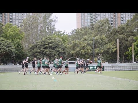 Sydney training camp: Day 2