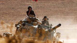 تركيا تنشر دبابات في جرابلس السورية والحر يطارد داعش