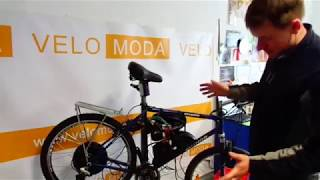 видео Мотор-колесо MXUS 48V 500W-1200W, заднее (Комплект)