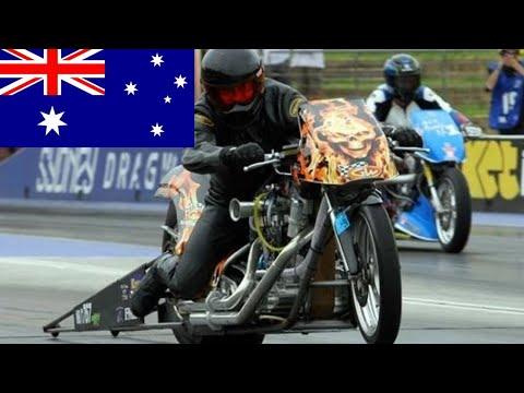 HOW AUSTRALIAN PRO FUEL NITRO HARLEY DRAG BIKE RACER GOT AN AMERICAN MADE HARLEY DAVIDSON MOTORCYCLE