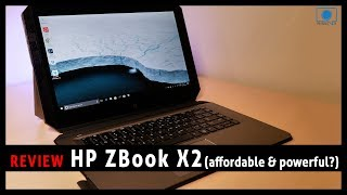HP ZBOOK REVIEW - Affordable Tablet that outperforms the Surface Pro?