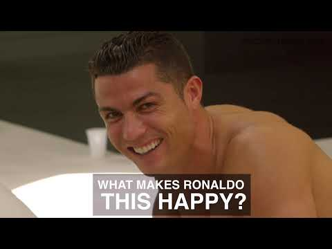 What makes Cristiano Ronaldo this happy?   ROC Live Life Loud