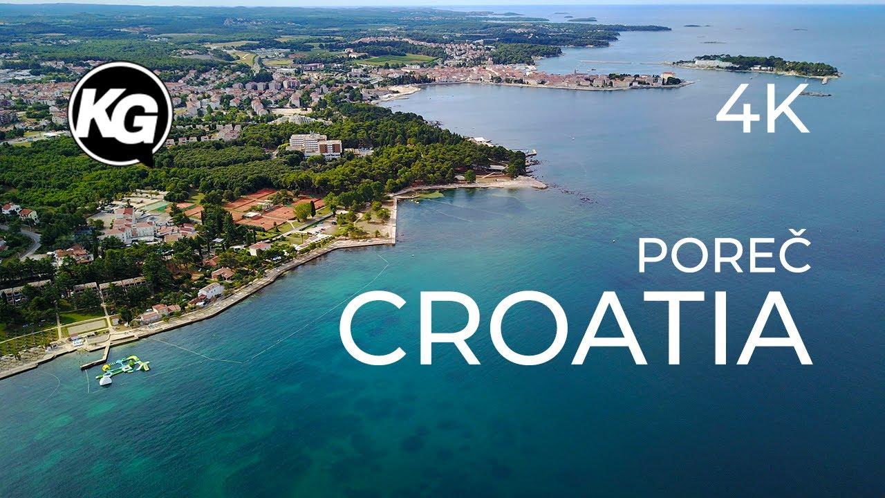 Croatia Istria Porec 4K / DJI Mavic Pro / Travel Vlog