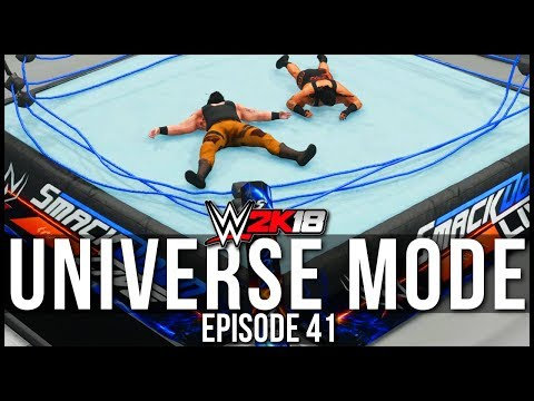 WWE 2K18 | Universe Mode - 'COLLAPSED RING!' | #41