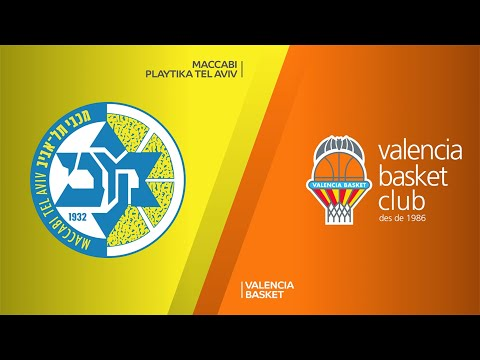 Maccabi Playtika Tel Aviv - Valencia Basket Highlights |Turkish Airlines EuroLeague, RS Round 28