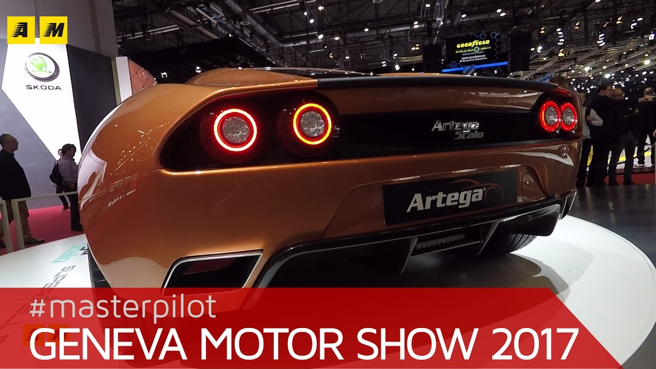 Artega Scalo Superelletra Concept   1.020 CV e stile Touring Superleggera   Salone di Ginevra 2017
